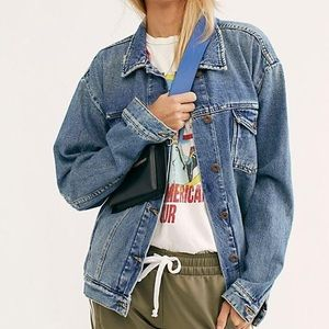 Free People Ramona Denim Trucker Jacket